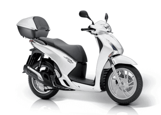 Honda SH 125 / PCX 125 (Group F) | Tropical Rent Madeira
