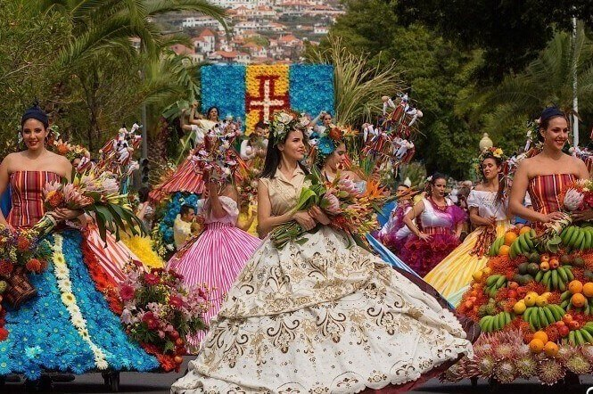 Flower Festival in Madeira Island, Tropical Rent Madeira