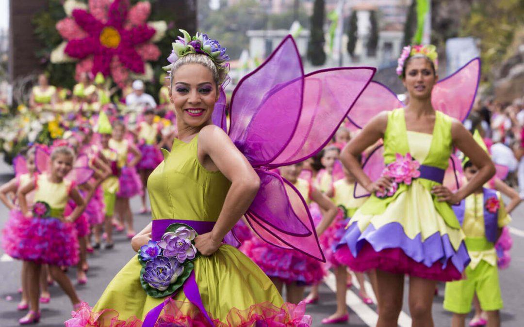 The Flower Festival in Madeira Island