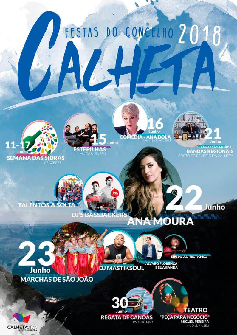 Festas concelho da calheta 2018
