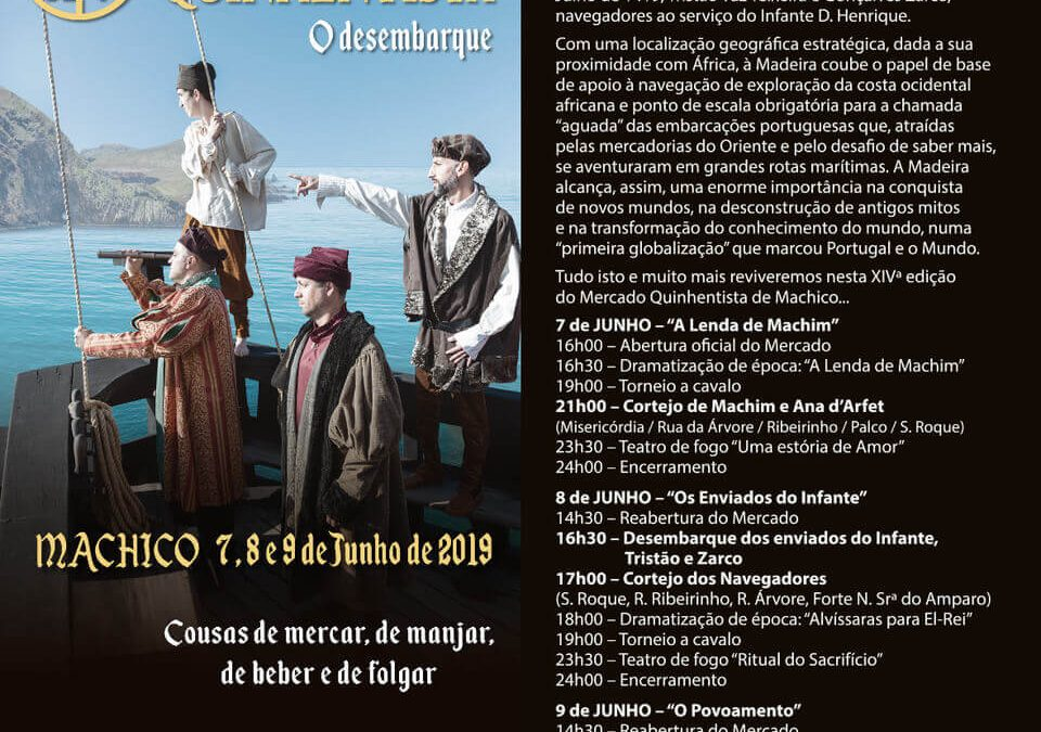 Machico Hosts the 14th Edition of the Fifteenth Century Market